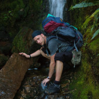 Frisches Quellwasser gibt neue Kraft für den Aufstieg!