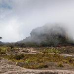 Fidel vor dem Maverick, der höchsten Erhebung des Roraima