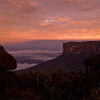 Morgendlicher Blick auf den Kukenán