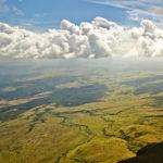 Fantastisches Panorama vom Maverick (2810 Meter hoch) aus